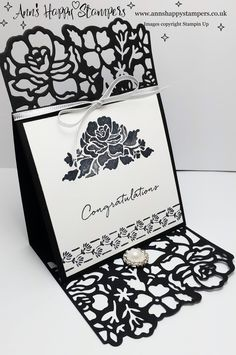 Detailed Floral Thinlits Card #1 Simple Sunday Crafting - YouTube