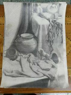 sketching practice in Beijing in 1st year.