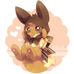 OMG Eevee is so adorable <3
