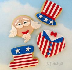 The Partiologist: Uncle Sam Cookies!