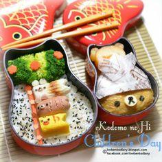 posted from @Karen Jacot Wee's Bento Diary #kodomonohi #childrensday #こどもの日 #rilakkuma #kiiroitori #korilakkuma #obentoart #kwbentodiary http://kwbentodiary.blogspot.com/2014/05/bento2014may05childrens-daykodomo-no-hi.html …