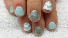 Pintrest inspired mint blue pattern