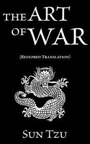 """""""Is that from The Art of War? You can't apply Sun Tzu's rules about military strategy to modern life,"""" Nancy tells her husband.  The Art of War, Sun Tzu"""