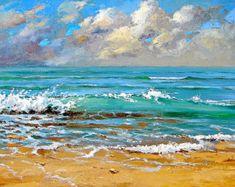 Arte de la pared del mar lejos y ausente por AfremovArtStudio