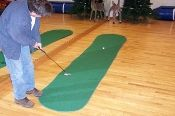 Big Moss Golf THE AUGUSTA EX PRO 4' X 15' Practice Putting Green
