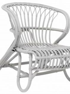 Storebror Stoel grijs rotan 73x63x80cm, Chair Stol grey goedkoop