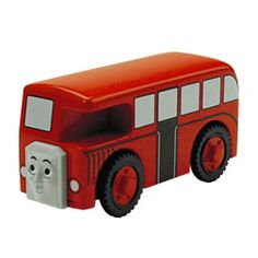Bertie is a friendly bus who is always ready to help any engine. Bertie can connect to other Wooden Railway engines and vehicles with magnet connectors. Perfect for Thomas & Friends™ Wooden Railway train sets!