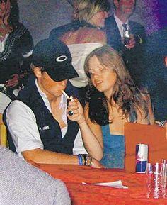 Prince Harry having a smoke.