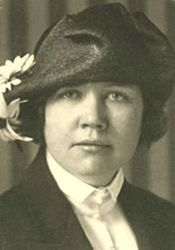 Rose Wilder Lane was the first child of Laura Ingalls Wilder and Almanzo Wilder (and their only child to survive into adulthood).
