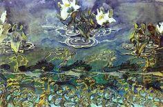 Water Lilies Mikhail Vrubel