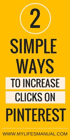 Improve your click-through rate to actually see the awesome result of Pinterest to increase page views.  Why do you need to focus on click-through rate? It is actually a good thing that your pins are popular and getting eyeballs. But impression on Pinterest is nothing when people are not clicking on your pins.