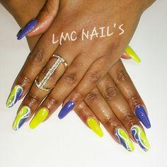 #nails #ongles #Nailsart #nailartiste #gel #chablon #yellow #nail #nailsdone