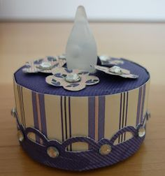 Papercrafts Love Affair: Altered Tealight Birthday Cakes