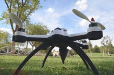 Mola: Review del Flying 3D X8, un quadcoptero de grandes alturas