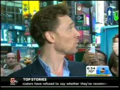 Tom Hiddleston on Good Morning America 11/1/13