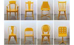 """Uma empresa de Nova York chamada """"Bade Stageberg Cox"""" busca incorporar métodos inovadores em seus projetos. E foi o que ela fez com os assentos """"street"""" (assentos de rua). O projeto foi concebido para o Pier Coffee Bar 94 e dispõe de 50 cadeiras que foram encontrados abandonados nas ruas de Nova York."""
