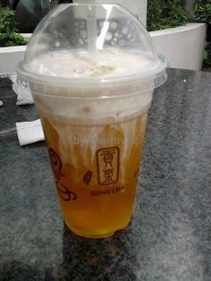 Gong Cha's Green Tea House Special