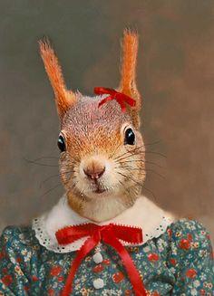 Stephanie the Squirrel - Angela Rossi - 29€