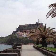 A castle in Sardinia