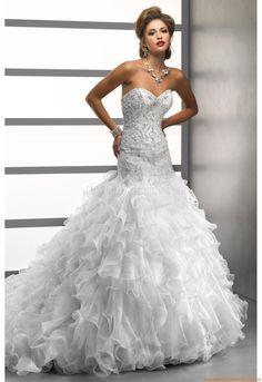 Reißverschluss Designer Brautkleider
