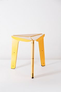 Array stool, design by Tomas Kral for PCM Compact Furniture, Folding Furniture, Trendy Furniture, Simple Furniture, Metal Furniture, Repurposed Furniture, Home Furniture, Furniture Design, Folding Stool