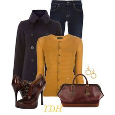 Ralph Lauren & DSquared, created by talvadh on Polyvore