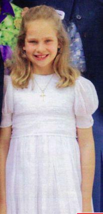 Irène Urdangarin (Espagne), 9 ans, née en 2005