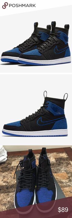 Air Jordan 1 retro ultra high new NEW with box Retail $150 Color Black/sport royal-black-white  Available in different sizes .. ⚡️I have a lot of Nike deals, visit my closet ⚡️ Jordan Shoes