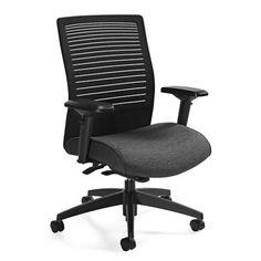 Medium Back Weight Sensing Synchro Tilt Chair