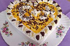 Kirsch - Eierlikör - Blechkuchen mit Schmand - Sahne 4