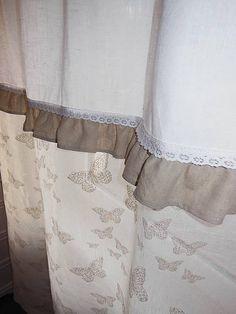 Linen curtains by shabby.romantic / Ľanové závesy Lyssandra