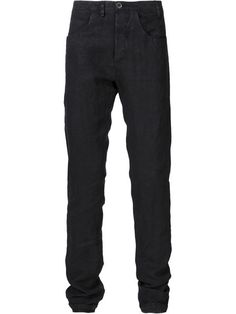 Shop Label Under Construction straight leg trousers .