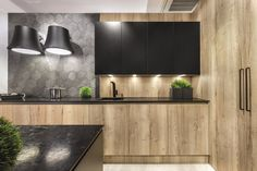 Modern Home Decor Kitchen Home Decor Kitchen, Kitchen Furniture, Kitchen Interior, Kitchen Dining, New Kitchen Designs, Kitchen Colors, Cozy House, Cool Kitchens, Sweet Home