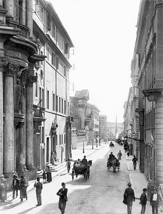 vintage everyday: Old Photos of Rome from the Late 19th Century