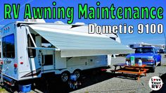 RV Power Awning Super Easy Maintenance Howto - http://www.loveyourrv.com/rv-power-awning-super-easy-maintenance-how-to/