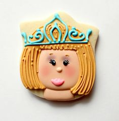 Sweet Sugarbelle and Sparkly Cookies!! - this one is made with a tulip cutter.