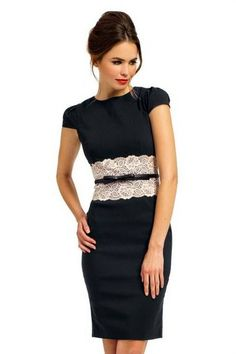 Cool Black shift dress review