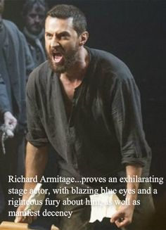 Most of The Telegraph quote about RA in 'The Crucible'