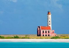 The Klein Curacao ('Little Curacao') lighthouse was first built in 1850, on a tiny spit of land 11km off the southeastern tip of Curacao in the Caribbean Sea.