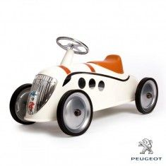 Rider Peugeot Darl'mat Car for Kids in Beige from The Well Appointed House
