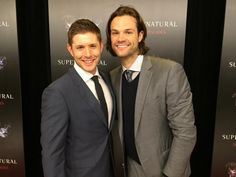 Celebrating with @jarpad at a wonderful 200 episode bash.  #supernatural #SPNFamily #ThisGuySmells  @JensenAckles
