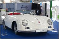 356 Speedster mit Elektro-Antrieb. Turn-E bietet Elektro-Umbau für den Klassiker an Porsche 356 Replica, Auto News, Vehicles, Car, Autos, Men's Fashion Styles, Classic Outfits, Automobile, Cars