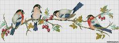 Cross Stitch Bookmarks, Cute Cross Stitch, Cross Stitch Bird, Cross Stitch Animals, Cross Stitch Flowers, Cross Stitch Charts, Cross Stitch Designs, Cross Stitch Embroidery, Embroidery Patterns