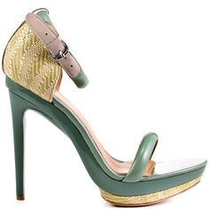 Heels I Love #heels #summer #high_heels #color #love #shoes Mark and James  				  				Ritchie - Sage Natural