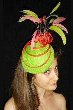 Colorful hat.  Cut