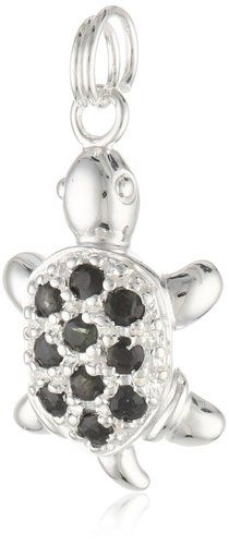 Sterling Silver and Blue Sapphire Turtle Charm    106 customer reviews List Price:$59.99 Price:$19.00 & FREE Shipping on orders over $35. FREE Returns. Details You Save:$40.99 (68%) In Stock.