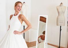 Carolina Gonzales-Bunster in a Mary Katrantzou wedding dress