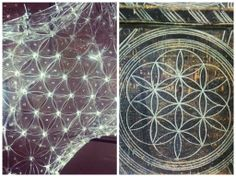 Zamolxe's cross/ flower of life / romanian mithology