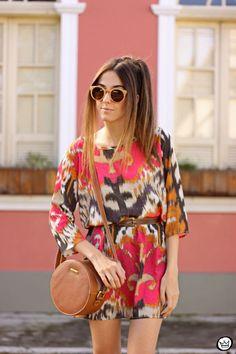 FashionCoolture - 31.05.2015 look du jour SlyWear boho  printed dress (2)
