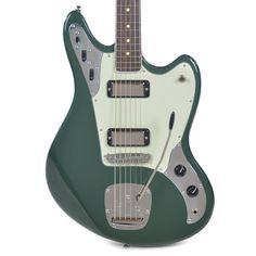 BilT Relevator LS Baritone Highland Green Metallic w/(3) Lollar Firebi | Chicago Music Exchange